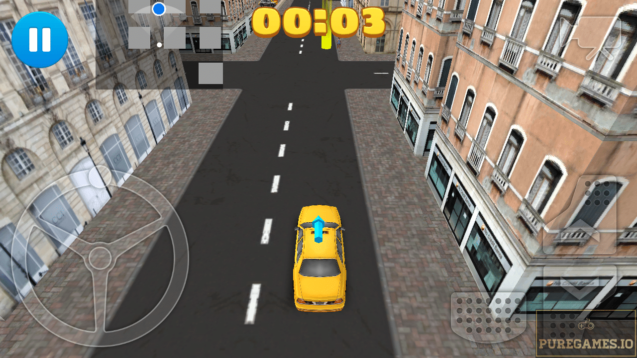 driving taxi game